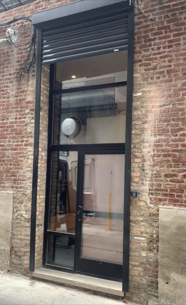 Very tall shutters